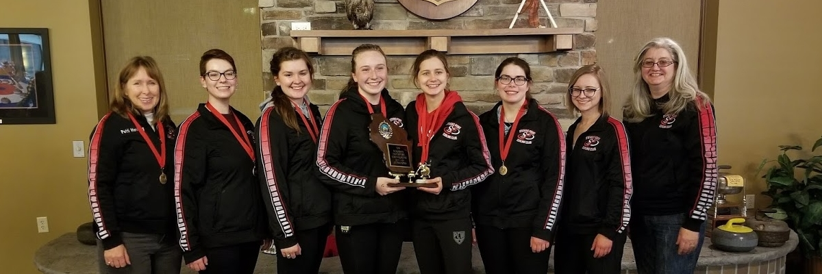 Girls win Back to Back State Titles! Congratulations high school curlers for all your success!